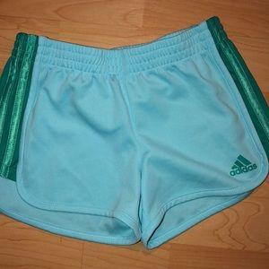 Girls adidas shorts
